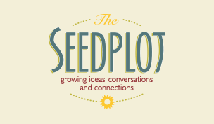 The Seedplot (logo) growing ideas, conversations, and connections